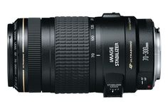 Canon EF 70-300mm f/4-5.6 IS USM | Canon Online Store. For the camera I already have (Canon t4i)