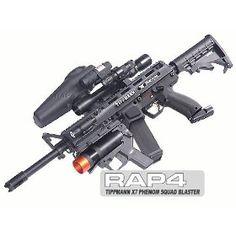 Squad Blaster Kit with Tippmann ® X7 ® Phenom - paintball gun