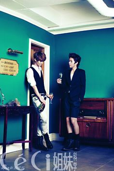 EXO-M - Ceci Magazine September Issue '12