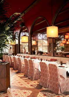 Martyn has overseen the design of Chateau Gütsch in Lucerne, Switzerland, and Chef Rick Bayless's flagship Red O restaurant; he is currently overseeing hotel… Top Interior Designers, Luxury Interior Design, Oriental Hotel, Innovative Architecture, Moorish, Newport Beach, Restaurant Design, Design Inspiration, Red