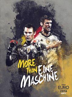 Euro 2016 : Neuer et Müller, fers de lance de la Mannschaft