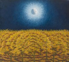 Autumn Moon by Scott Kahn: Giclee Print available at www.artfulhome.com