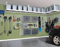 Garage upper storage by may