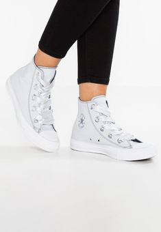 Chaussures Converse CHUCK TAYLOR ALL STAR BIG EYELETS - Baskets montantes -  pure platinum light 09f35157d8