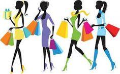 Four women go to the shopping!