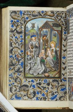 Book of Hours, MS H.7 fol. 66v - Images from Medieval and Renaissance Manuscripts - The Morgan Library & Museum