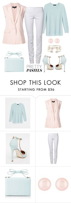 """pretty pastels"" by gallant81 ❤ liked on Polyvore featuring Ann Taylor, TIBI, ASOS, Ventcouvert, Nina, Henri Bendel and Accessorize"