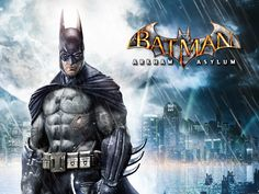 Video Game Classic: Batman - Arkham Asylum (Behind The Scenes Documentary) Batman Arkham City, Gotham City, Batman Poster, Batman Comics, Dc Comics, Xbox 360, Playstation, Batgirl, Nightwing