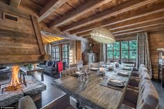 The best skiing in the French Alps is literally at your fingertips as you walk out the door, but it would be hard to drag yourself away from this plush interior