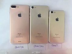 Another day, another new set of images purportedly showcasing Apple's next iPhones. The latest leaked images showcase dummy models for the iPhone the iPhone 7 Plus and an additional model labeled as the iPhone 7 Pro. Coque Iphone 4, Iphone Phone, Iphone Cases, Iphone 7 Plus, Steve Wozniak, Apple Iphone, Apple Watch Ipad, Capas Samsung, Smartphone