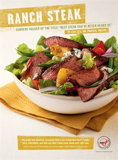What's Cooking Wednesday: Steak Salad with Blue Cheese