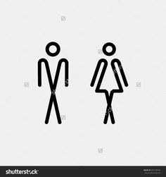 WC / Toilet door plate. Men and women WC sign for restroom. WC Icon Vector. WC Icon Art. WC Icon eps. WC Icon Image. WC Icon logo. WC Icon Sign. WC Icon Flat. WC Icon design. WC icon simple.
