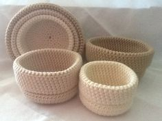 Small baskets for earrings, blacelets, necklace