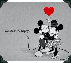 Mickey & Minnie....