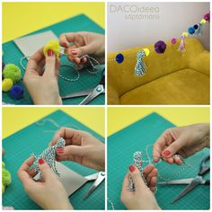 Watch our latest video tutorial and learn how to create your own party garland. It is easy to do and it will make your party stand out. You can find our prod. Diy Party Garland, Diy Craft Projects, Diy Crafts, Latest Video, Create Your Own, Make It Yourself, Watch, Easy, Creative