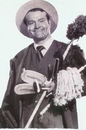If you were a kid in the 1950s, you remember...Red Skelton