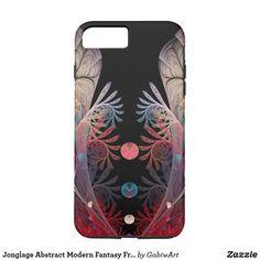 Jonglage Abstract Modern Fantasy Fractal Art iPhone 8 Plus/7 Plus Case