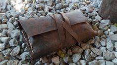 Leather Tobacco Bag Tobacco Case Leather tobacco pouch by GORIANI