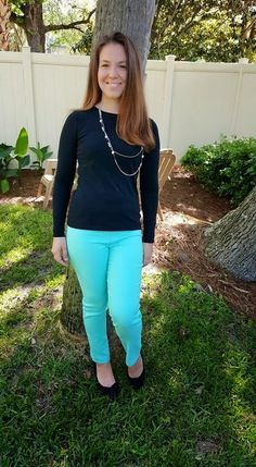 Margaret M Emer Textured Cropped Straight Leg Pants Pieces of Me: Stitch Fix Review May 2015
