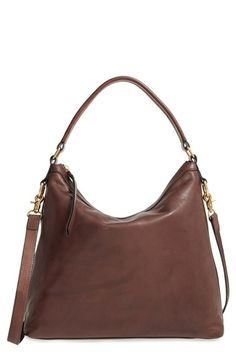 Free shipping and returns on Frye Claude Leather Hobo at Nordstrom.com. The long and short of this minimalist hobo bag is that it looks effortlessly great slung over the shoulder, carried in hand or worn on the arm. Fine-grained leather composition underscores the streetwise style, while the roomy interior stashes all the necessities and then some.