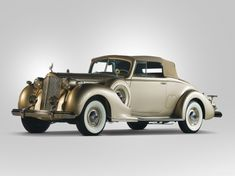 Packard Twelve Coupe Roadster 1938