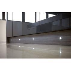 Sensio SE10130 4 x LED Dot IP44 Round Plinth Light Kit