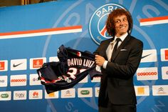 Photo - David Luiz press conference - psg.fr