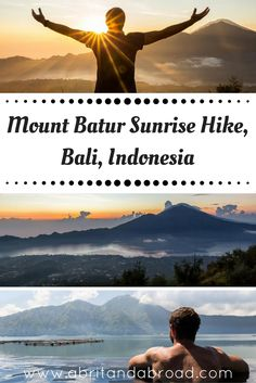 Mount Batur Sunrise Hike, Indonesia | http://www.abritandabroad.com/mount-batur-sunrise-hike-indonesia/