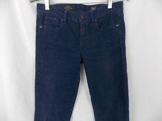 "J crew Womens Pants Toothpick CorduroySize W 30""   Ankle 26 blue  #JCrew #Corduroys"