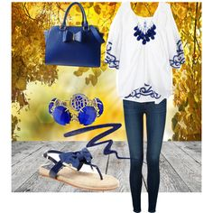 A fashion look from December 2014 featuring Emamò tunics, J Brand jeans and Tory Burch sandals. Browse and shop related looks.