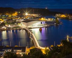 3XN connects norwegian cultural district with bridge at buen, Mandal, Norway (3XN)