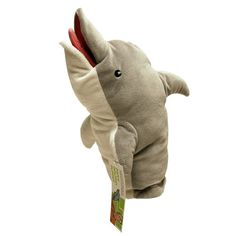 Director Pam Poovey's dolphin puppet from the hit animated TV series on FX, Archer , gets the plush puppet treatment here with the Archer Dolphin 12-Inch Plush Puppet! This stylized puppet features Po