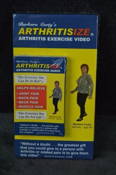 Barbara Curty's Arthritisize arthritis exercise audio video combo Health Fitness #arthritis Arthritis Exercises, Muscle Pain, Neck Pain, Workout Videos, You Can Do, Health Fitness, Audio, Books, Life
