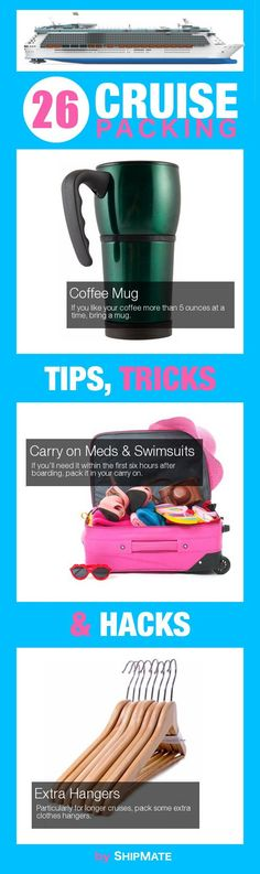 26 Genius Cruise Packing Hacks by Ship Mate.
