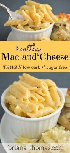 Healthy Mac and Cheese // THM:S