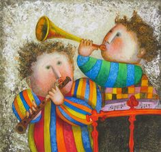 Pinzellades al món: Què sone la música! Qué suene la música! / Let the music play!
