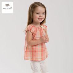 Cheap DB3305 dave bella bebé del verano de las muchachas de las muchachas blusas a cuadros tapas del algodón del bebé camisetas niños camisetas bebés niñas blusas, Compro Calidad Blusas y Camisas directamente de los surtidores de China: DB3305 dave bella bebé del verano de las muchachas de las muchachas blusas a cuadros tapas del algodón del bebé camisetas niños camisetas bebés niñas blusas