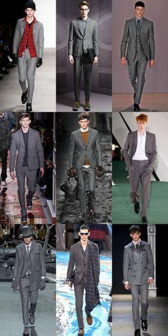 Grey Flannel Suits On AW14 Menswear Runways