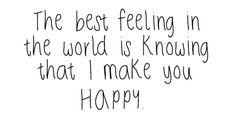 Best feeling..