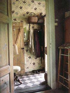 painted checkered floor Broarne.se - Bloggen: Tidskrifter