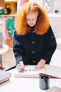 Pin for Later: 16 Ways Grace Coddington Has Made Her Mark on the Fashion Industry She's Had Countless Achievements at American Vogue Though she got her start as a fashion editor at British Vogue!