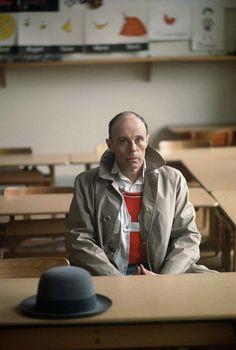 Joseph Beuys in his former school in Kleve by Gerd Ludwig