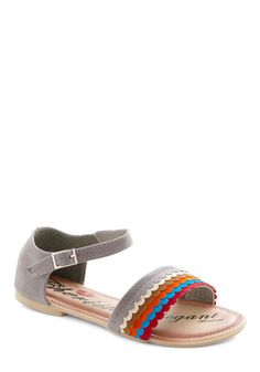 So cute! On Your Wavelength Sandal