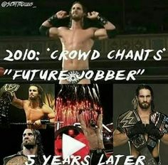 Those same people are eating there words now. AJ Styles even said he was the future of wrestling 10 years ago & look at him now. Seth, AJ Styles, Sami Zayn, Cesaro, Kevin Owens, Dean Ambrose, Finn Balor, & Shinsuke Nakamura all indy guys are gonna own WWE just watch