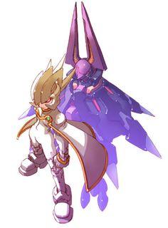 Devilbat Schilt - Characters & Art - Mega Man Zero 3