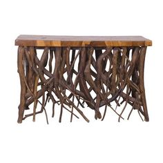 puji Meh Wood Console
