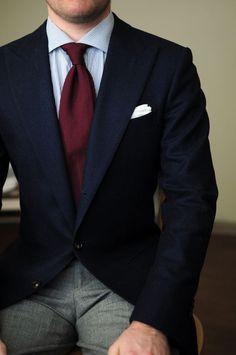 Blazer / Pantalon / Couleurs / Coupe / Cravate / Revers
