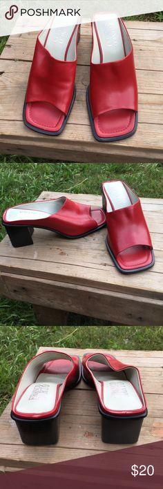 Franco Sarto red heels Size 6, no flaws, ships today💕 Franco Sarto Shoes Heels