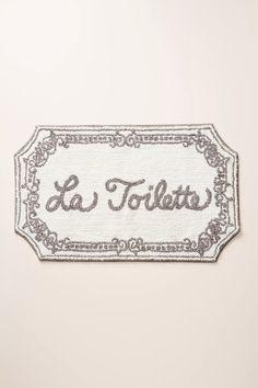 La Toilette Badematte von Anthropologie in Grau Bathroom Rugs, Bath Rugs, Small Bathroom, Bathroom Ideas, Bathroom Goals, Zen Bathroom, Downstairs Bathroom, Bathroom Inspo, Bathroom Designs