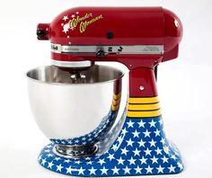 @Janelle Howard ,  the Wonder Woman mixer!